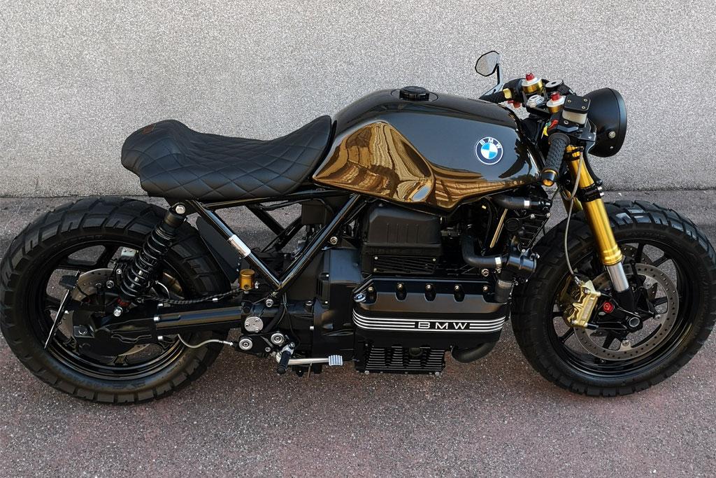 BMW K100 Gabel umbauen Schweiz
