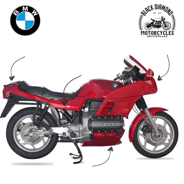 BMW K75 BMW K100 Verkleidung entfernen MFK Schweiz