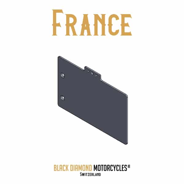 Support de plaque d'immatriculation BMW Boxer BMW R80 BMW R100 France