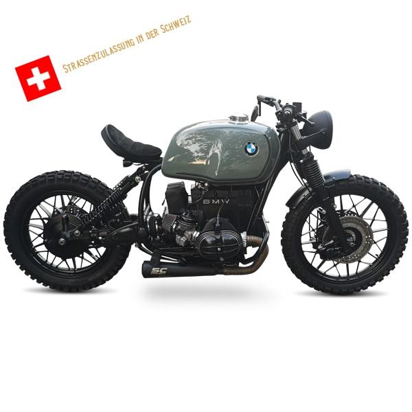 BMW R100 Bobber acquistare Svizzera corpo completo con MFK