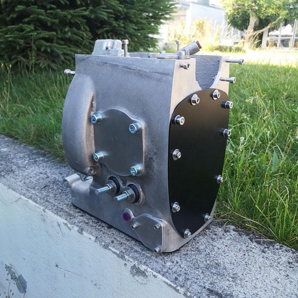 BMW R100 Boxermotor glasperlenstrahlen