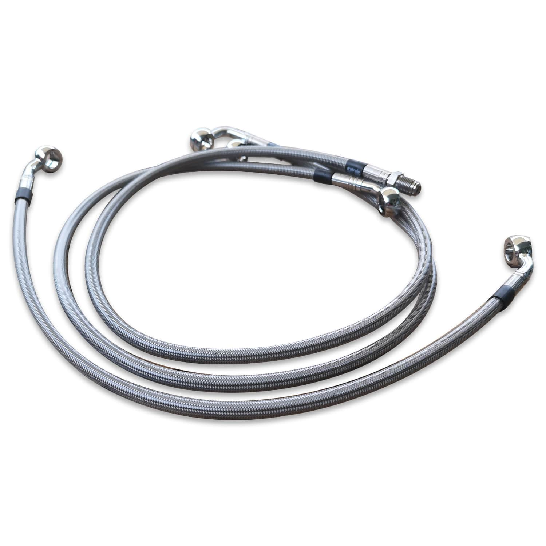 Kit Bremsleitungen Stahlflex_BMW Boxer