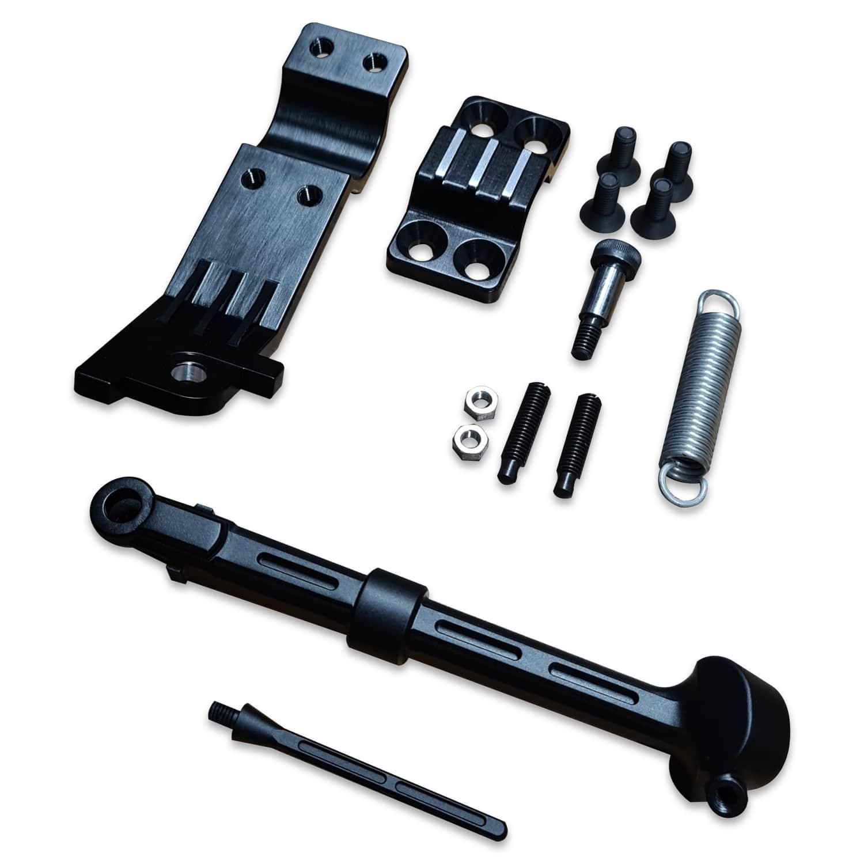 Seitenständer BMW R100 BMW R80 CNC schwarz eloxiert